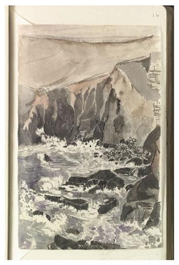 """Cove Near the Lizard"" by J.R.R. Tolkien"