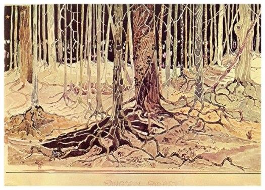 """""""Fangorn Forest"""" by J.R.R. Tolkien"""