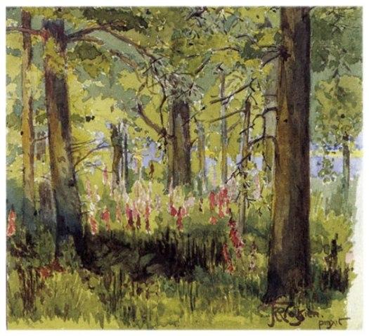 """""""Foxglove Year"""" by J.R.R. Tolkien"""