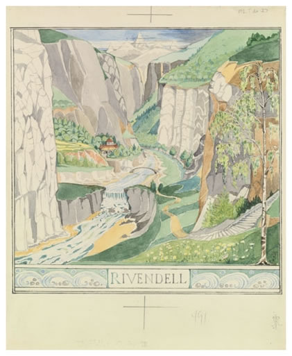 """Rivendell"" by J.R.R. Tolkien"