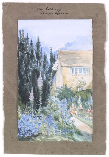 """""""The Cottage, Barnt Green"""" by J.R.R. Tolkien"""