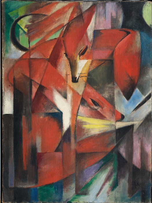 """The Fox""  by Franz Marc"