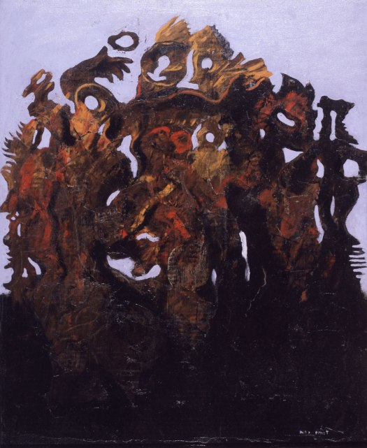 """The Numerous Family"", by Max Ernst, 1926"