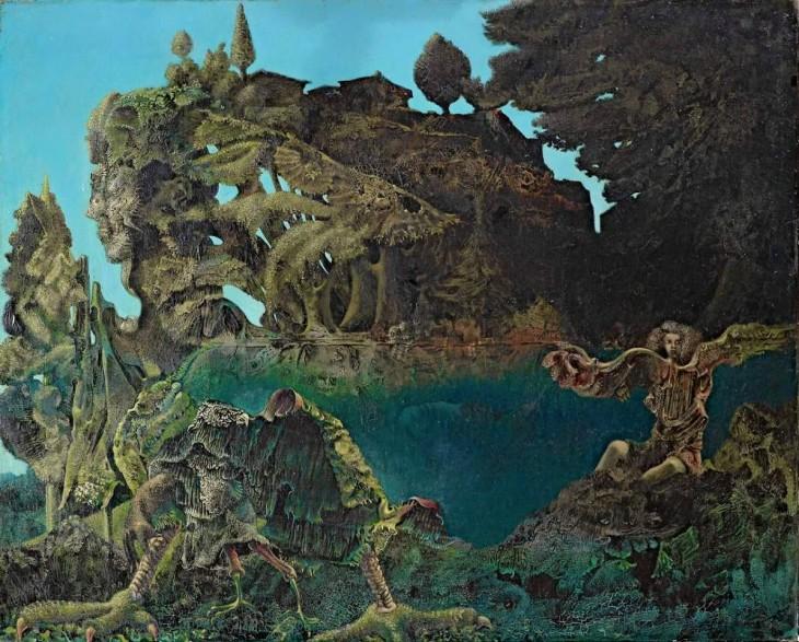 """""""Swampangel"""", by Max Ernst, 1940"""