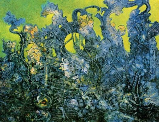 """The Last Forest"", by Max Ernst, 1969"
