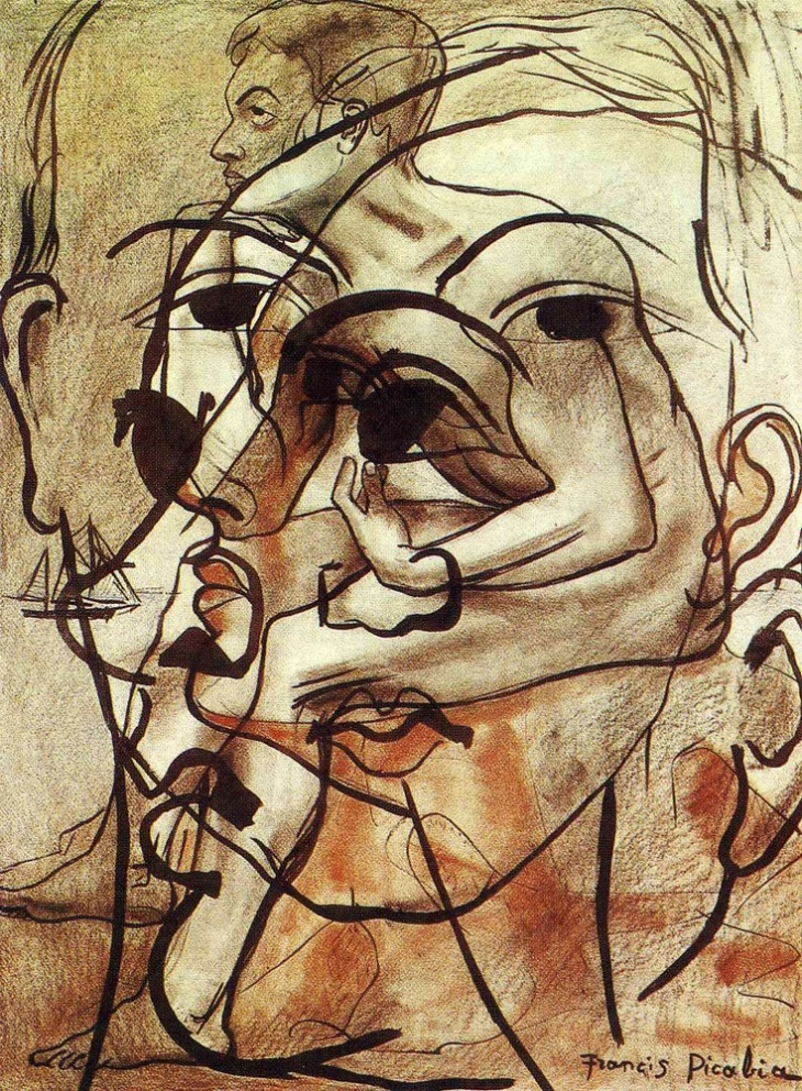 """Transparence"", Francis Picabia, 1932"