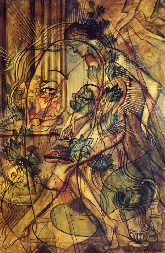 """Salome"", by Francis Picabia, 1930"