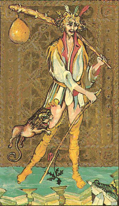 """The Fool"", The Medieval Scapini Tarot"